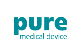 logo pure medical device